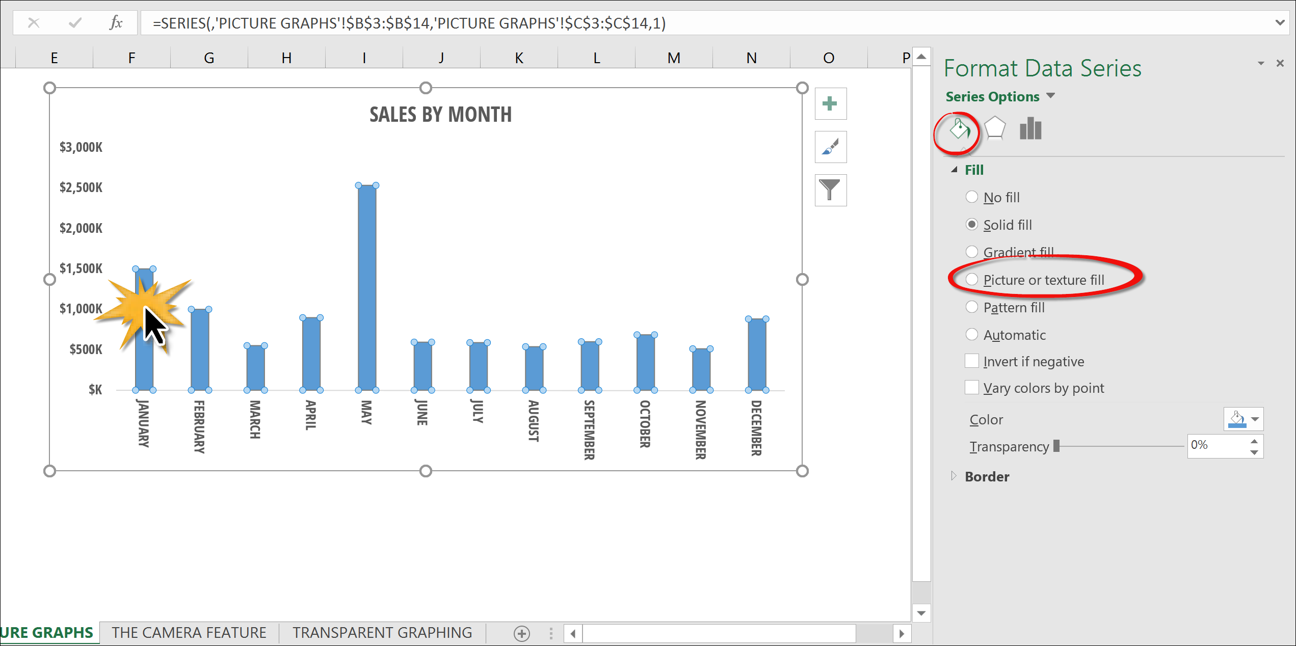 how to change series name in excel 2016