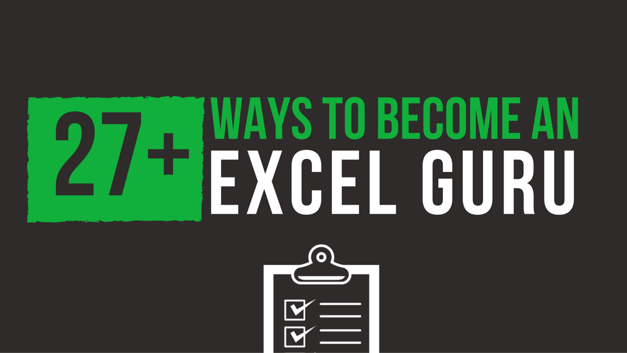 Teach Yourself How to be an Excel Guru - cover